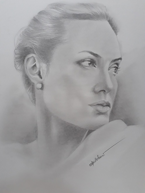 Angelina Jolie by Bobchew